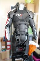 WIP MASS EFFECT Shepard Costume by The-Rover