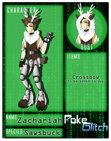 Zach -PokeGlitch Application- by TrelDaWolf