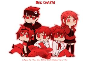 red chara by chrena