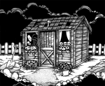 Day 07 - Haunted SHED by LifTilraun