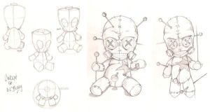 Voodoo Doll 3 Sheet by joebananaz