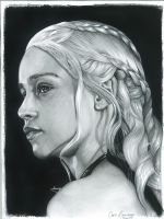 Daenerys Targaryen - The Mother of Dragons by ChrisRamirezArtwork