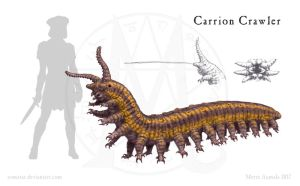Magestone: Carrion Crawler by Osmatar