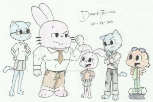 The Watterson Family NEW GENERATION- TAWoG by DASimsTOON2012