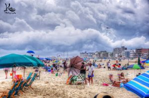 Get the umbrellas down! by AbstractedRealism