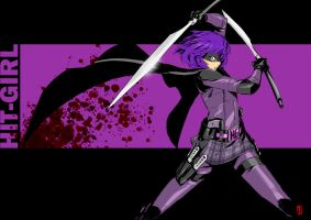 HIT-GIRL by the-hary