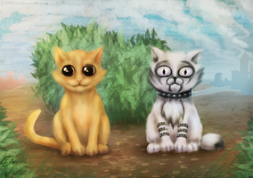 Cats, just cats by EL42