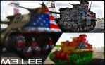 M3 Lee by x-Silent-Night-x