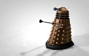 Dalek Textured Render by Exherion