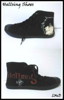 Hellsing Shoes by BeTtEr-Of-TwO-EvilZ