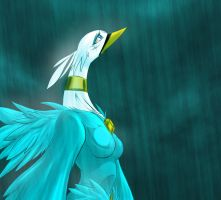 Standing In The Rain by Dragonman32