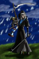 Susan and Death-of-Rats by ShadetheMystic