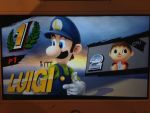 Luigi (Anime Movie 1986 Outfit) in SSB 4 Wii U by PrincessPuccadomiNyo