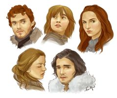 Starks by kimpertinent