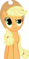 Unsure Applejack by PressToShoot