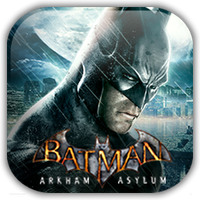 Batman Arkham Asylum Game Icon by Wolfangraul