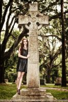 Karoline and the Cross by RoyalImageryJax
