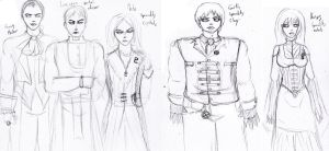 Haunting Ground OC's by Shakahnna