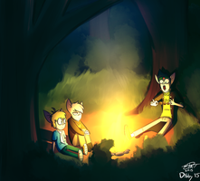Campfire by theStupidButterfly