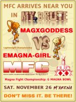 MagX brute girls duel poster by magXlander