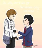 Klaine Somewhere Only We Know by Geminico