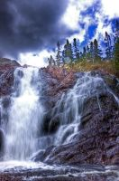 HDR Waterfall by Witch-Dr-Tim