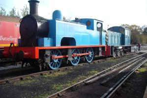 Faceless numberless Thomas by WhippetWild