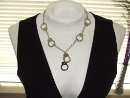 Handcuff necklace by Mistress-Stock