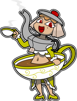 Tea Girl by Sageroot