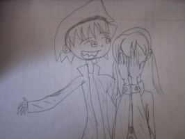 Dont cry Maka - 1 by EnvitChan