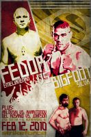 Strikeforce: Fedor vs. Silva by weoweoweo