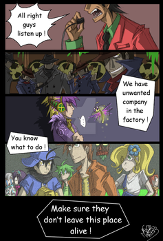 CBNS: Unwanted Company by 123soleil