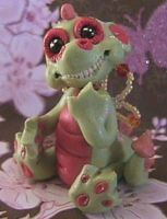 POLYMER CLAY DRAGON TWISTER by crazylittlecritters