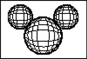 TI-83+ Graph: Mickey Spheres by chrisbouchard