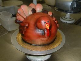 Turkey Cake by Kahlan4