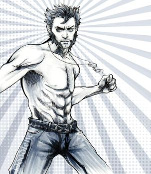 Wolverine GIF by Doodleholic