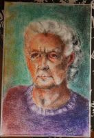 Grandmother 's portrait by TigaLioness