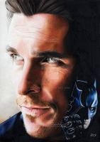 Christian BALE/The Batman by Sadness40