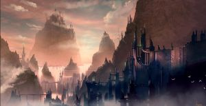 Fantasy city by steena65