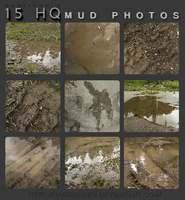 HQ Mud Photos Stock Pack by RadillacVIII