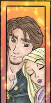 Tangled bookmark by Nuskineta