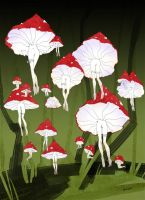 fly agarics by iMEAO