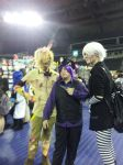 Srping Tarp, Marionette and Purple Guy Cosplayers by good-flippy