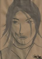 Lara Croft India Ink | Attempted Drawing 5 by pspfreak1000