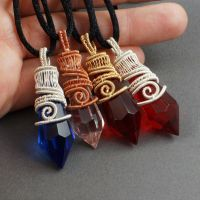 Prism Pendants by sylva