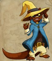 Commission- Otter Mage by ChaosKomori