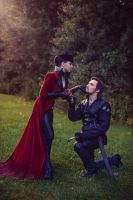 Regina and Hook by Almost-Human-Cosband