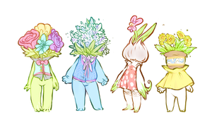 plant villagers by 8rabbit