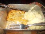 Chicken and Garlic puff pastry and Mash Potato by FFDP-Neko
