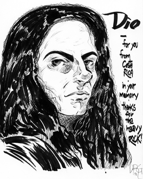 A tribute to DIO by D-MATSUYAMA